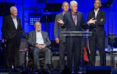 Ish-presidentët mbledhin bashkë 31 milionë dollarë, arsyeja e rrallë