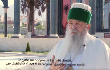Drejtuesit e katër feve në Shqipëri bëhen për herë parë bashkë, në këtë mesazh kundër ekstremizmit të dhunshëm (VIDEO)