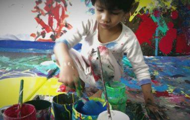 Piktori 4 vjeçar që po mahnit botën