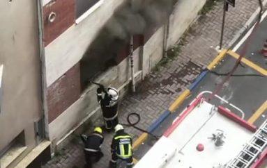 Zjarr pranë banesës, Rudina Magjistari: Nderim për zjarrfikësit shqiptarë