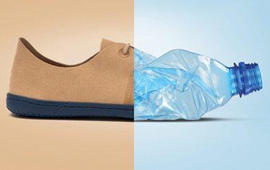 Linjë e re këpucësh, të bëra me 17 shishe plastike