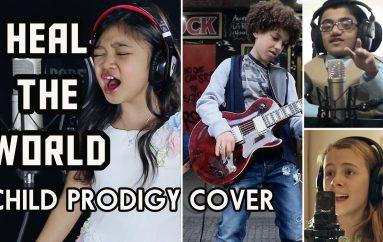 """Fëmijë nga e gjithë bota, realizojnë hitin e Jackson """"Heal The World"""""""