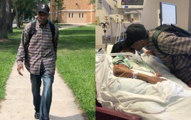 99 vjeçari ecën 6 milje në ditë për të vizituar gruan e tij në spital
