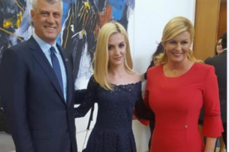 Gruaja nga Kosova, pjesë e kabinetit të presidentes kroate