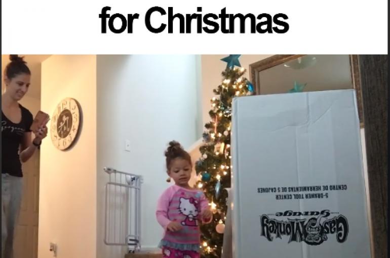 Surprizë për Krishtlindje