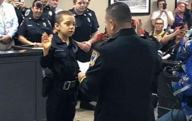 6 vjeçarja dëshiron të bëhet shefe policie, për t'u hakmarrë ndaj kancerit