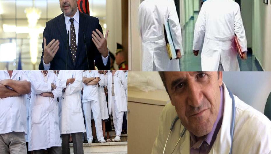Mjekët drejt Gjermanisë, Rama 'josh' të larguarit