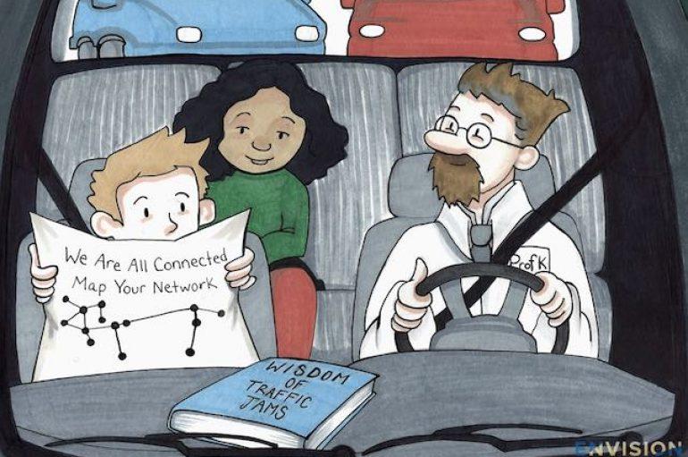 Bllokimet e trafikut tregojnë si jemi të lidhur të gjithë nëpërmjet shkencës së mirësisë