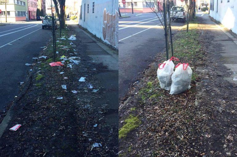 Njerëzit po përdorin mbeturinat, për një sfidë të re pozitive në internet