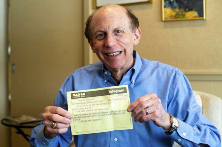 Ky burrë në Michigan merr urimin me telegram 50 vjet më vonë
