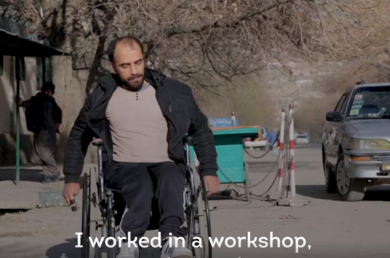 Plagët e luftës në Afganistan