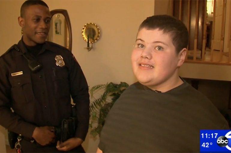 Zyrtari i policisë ndihmon djalin autik të gjejë mikun e tij të shtrenjtë