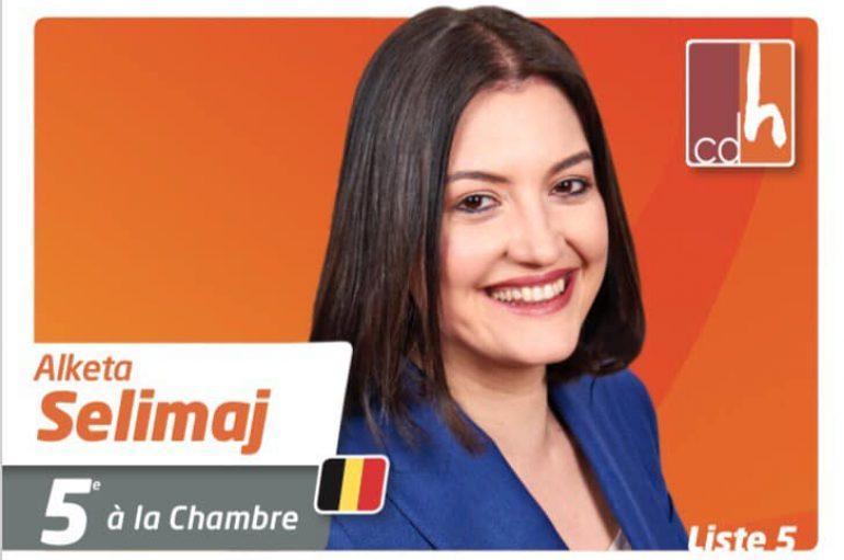 Vlonjatja që synon Parlamentin e Belgjikës