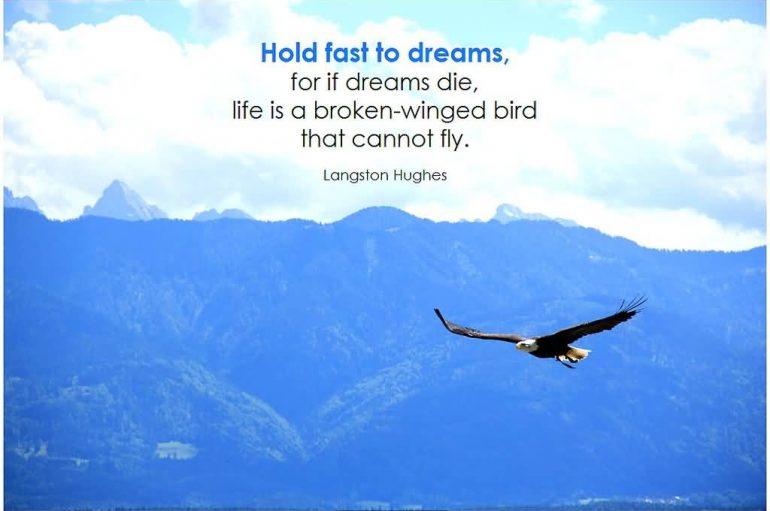 Mbajini fort ëndrrat nëse ëndrrat vdesin