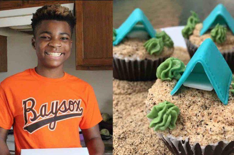 13-vjeçari hap furrë buke, që t'u japë ëmbëlsira të pastrehëve