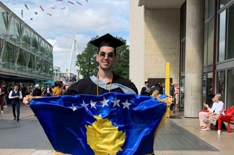 Studenti nga Kosova shkëlqen në Londër