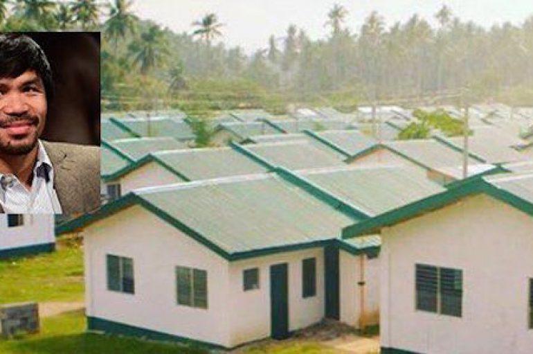 Ka vuajtur nga varfëria, boksieri ndërton 1000 shtëpi për njerëzit në nevojë  në  Filipine