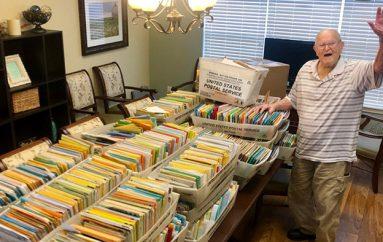 Veterani i Luftës së Dytë Botërore kërkoi 100 letra për ditëlindjen e tij të 100-të dhe mori mbi 100,000