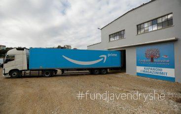 Kompania Amazon ofron ndihma për të prekurit nga tërmeti