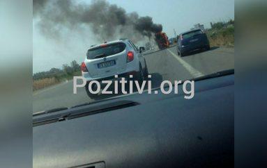 Shkrumbohet autobusi në Milot, pasagjerët shpëtojnë mrekullisht (VIDEO)