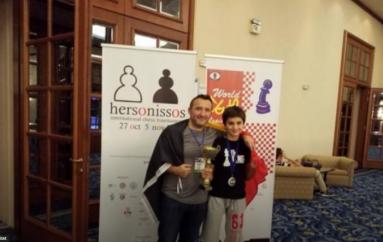 14 vjeçari shqiptar shpallet kampion bote në shah