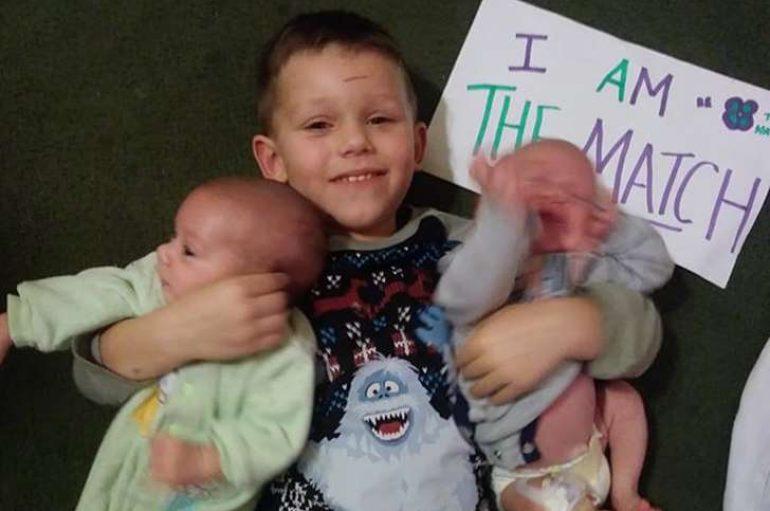 'Superheroi' 4-vjeçar dhuron palcën për të shpëtuar vëllezërit e tij binjakë
