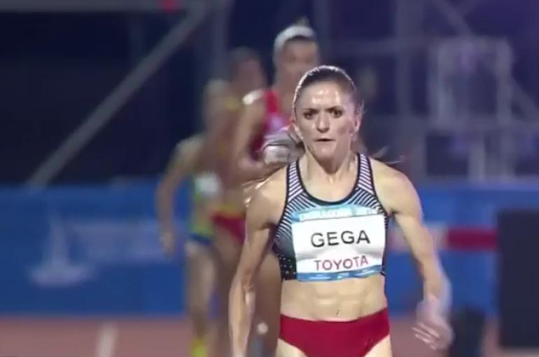Luiza Gega triumfon në Lojërat Mesdhetare