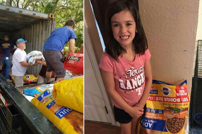 8-vjeçarja dëshiron ushqime për kafshët për ditëlindjen e saj