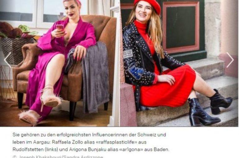 Arigona, shqiptarja që ndikon përmes Instagram-it