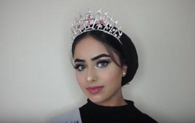 Studentja me hixhab hyn në histori, konkuron në finalen e Miss Anglisë