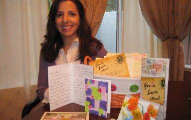 Gruaja themelon organizatë që shpërndan letra frymëzimi pasi u diagnostifikua me kancer