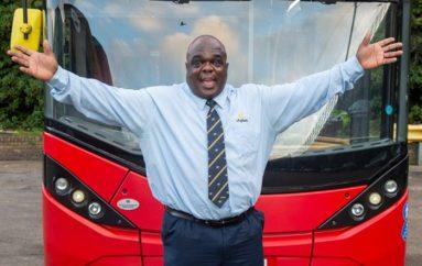Ish i pastrehu, shpallet shoferi më i mirë i autobusëve në Londër: Kurrë s'ndaloj së buzëqeshuri