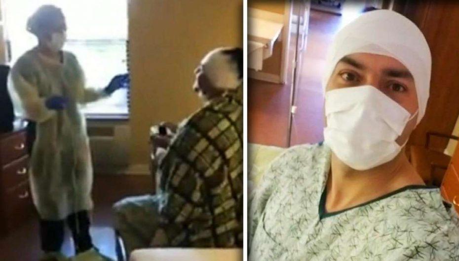 Maskohet si pacient, i riu propozon të dashurën në spitalin ku ajo punon