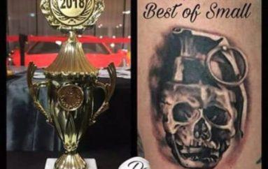 I riu nga Elbasani shpallet kampion i tatuazheve në Gjermani