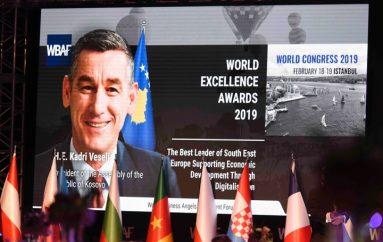 """""""Udhëheqësi më i mirë i Evropës Juglindore për mbështetjen e zhvillimit ekonomik nëpërmjet digjitalizimit"""""""