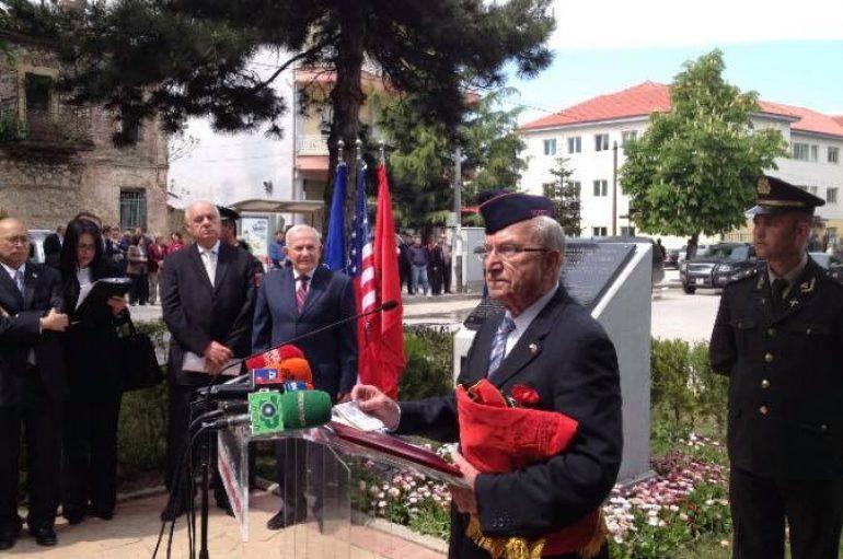 Ronald Nasson, veterani shqiptaro-amerikan