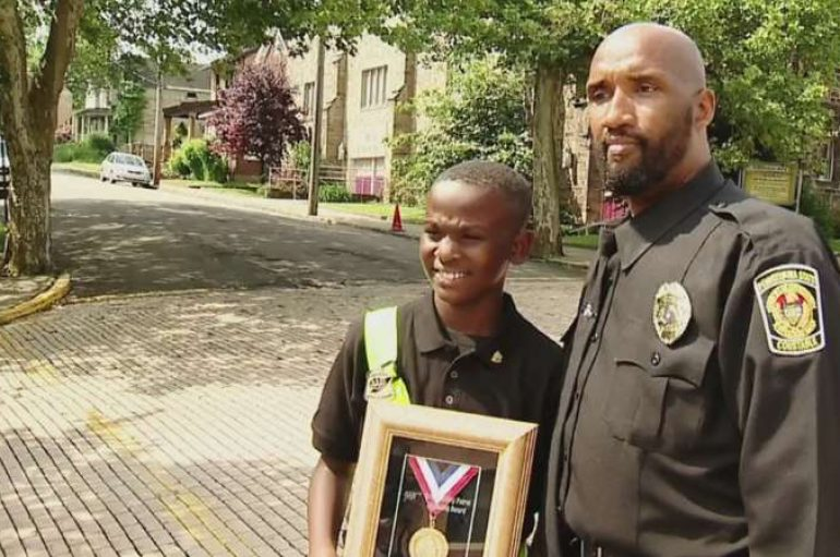 9 vjeçari shpallet hero pasi shpëton një fëmijë