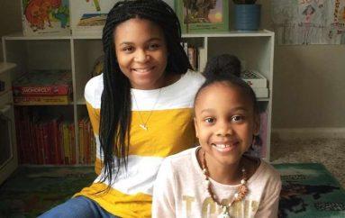 2 motrat lexojnë tregime gjumi për fëmijët e tjerë çdo natë në Facebook