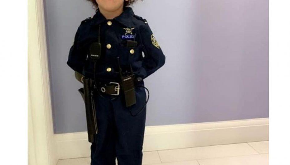 Rejana, 4 vjeçarja shqiptare në Londër që dëshiron të bëhet police për të ndihmuar njerëzit