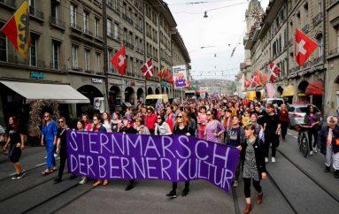 Gratë zvicerane luftojnë ndaj pabarazive
