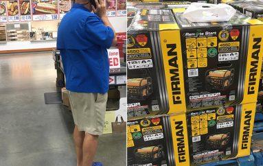 Një burrë ka blerë 100 gjeneratorë, për të prekurit nga uragani në Bahamas