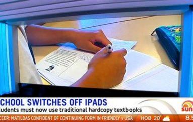 E përdori për 5 vite, shkolla ndalon iPadin dhe rikthen përsëri librat