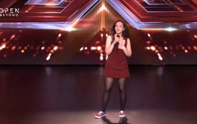 17 vjeçarja shqiptare mahnit grekët me zërin e saj