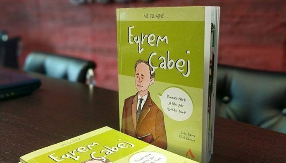"""Serisë për fëmijë iu shtua libri """"Më quajnë Eqrem Çabej"""" me autor Luan Ramën"""