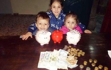 3 vogëlushë dhuruan kursimet e tyre për fëmijët e prekur nga tërmeti