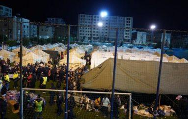 Çmontohet kampi, Rama i dërgon në hotele të prekurit nga tërmeti