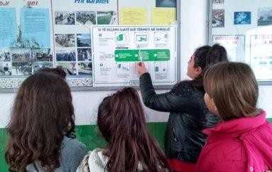 Plani i emergjencës, tashmë i afishuar në çdo shkollë