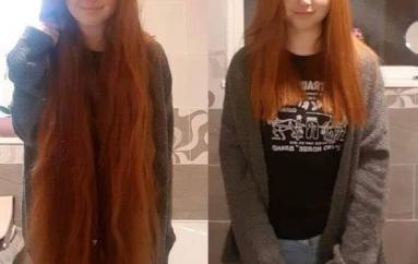 Kjo vajzë dhuron 30 cm të flokëve të saj për të bërë paruke për fëmijët me kancer