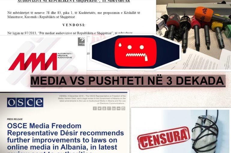 """Qeveria si """"Maliq"""", sa herë ka tentuar këto dekada të kontrollojë median me dhe pa ligj"""