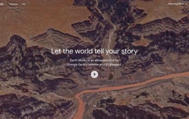 Google Earth Studio: Animacioni i informacioneve grafike në gazetari